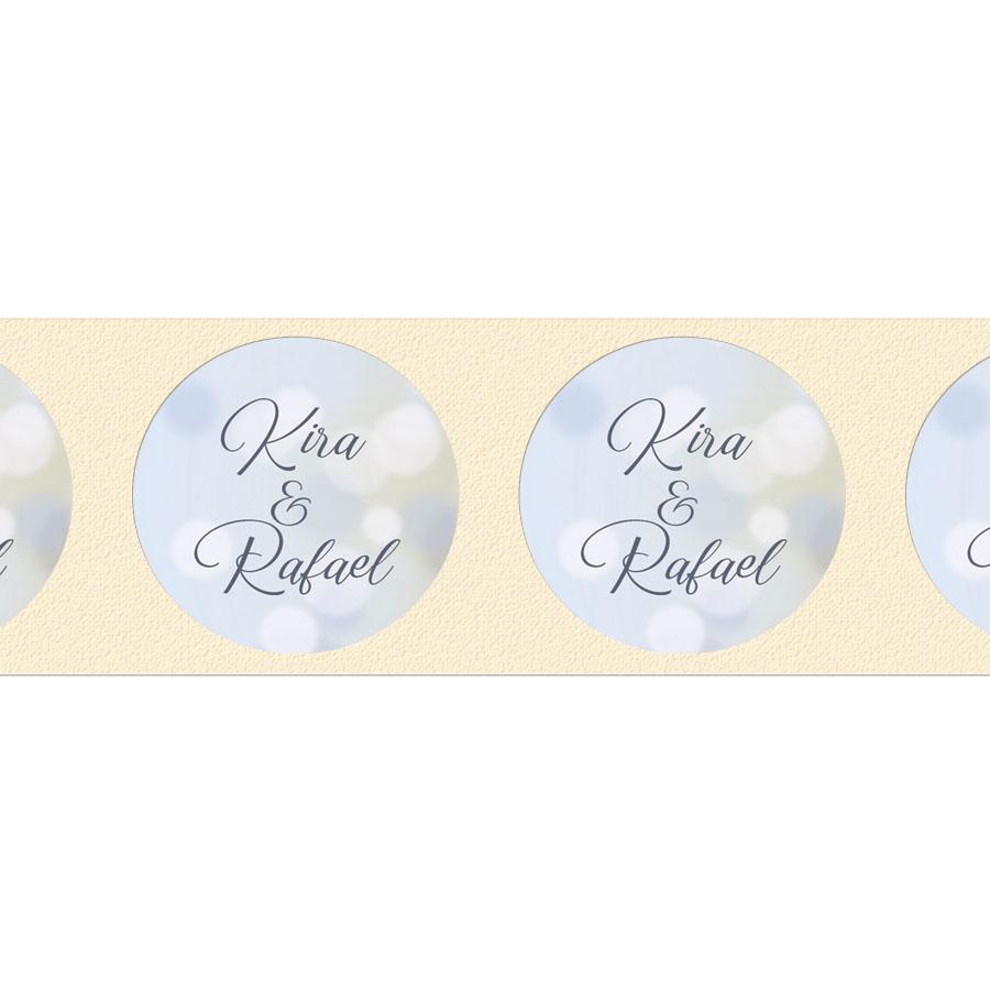 Giveaway Hochzeit: Aufkleber Für Gastgeschenke Rund Hochzeit Online Drucken