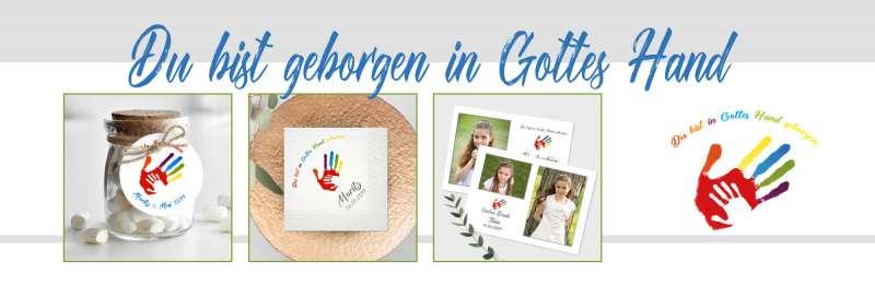 """Kommunionsthema """"Geborgen in Gottes Hand"""""""