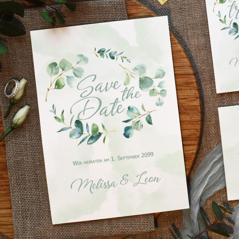 Save-the-Date Karten Hochzeit