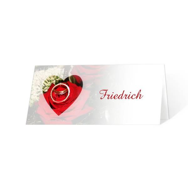 Tischkarten Platzkarten Hochzeit