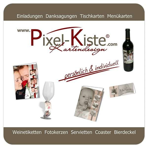 Bierdeckel im Corporate Design