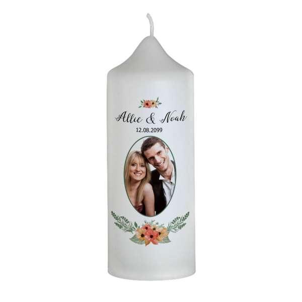 "Hochzeitskerze Brautkerze ""Allie & Noah"""