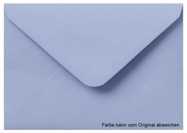 Briefumschlag A6 babyblau hellblau