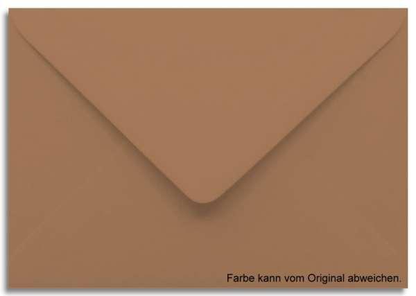 Briefumschlag braun 11 x 15,6 cm