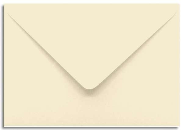Briefumschlag creme elfenbein A6