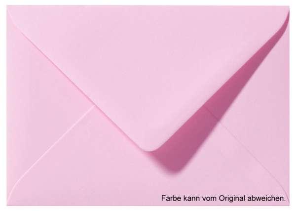 Briefumschlag dunkelrosa 11 x 15,6 cm für A6