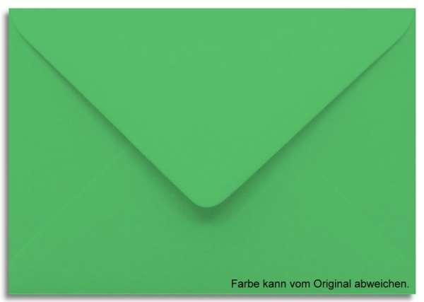 Briefumschlag grasgrün 11 x 15,6 cm