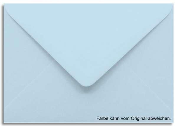 Briefumschlag hellblau 11 x 15,6 cm