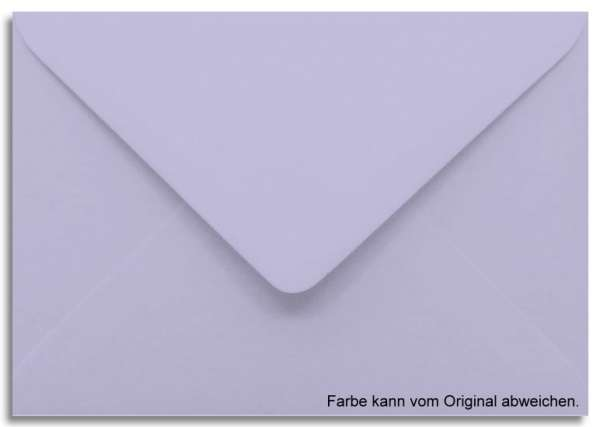 Briefumschlag lila/lavendel 11 x 15,6 cm