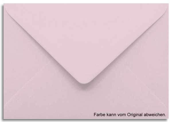 Briefumschlag rosa 11 x 15,6 cm