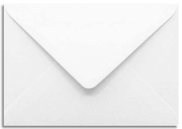 Briefumschlag weiß 11 x 15,6 cm A6