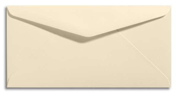 langer Briefumschlag creme elfenbein