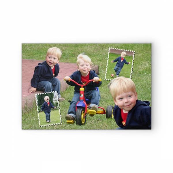Fotocollage Poster Leinwand auf Keilrahmen Kinderfotos