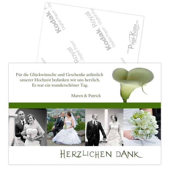 Danksagungskarten Hochzeit Verpartnerung