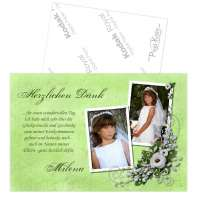 Danksagung Kommunion Konfirmation Jugendweihe «Blumenbuket»