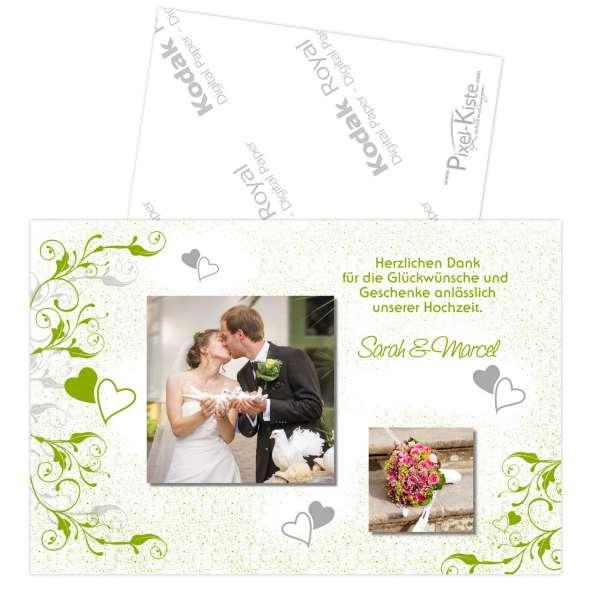 Fotodanksagungen Hochzeit