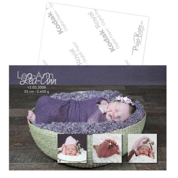Danksagungskarte Baby