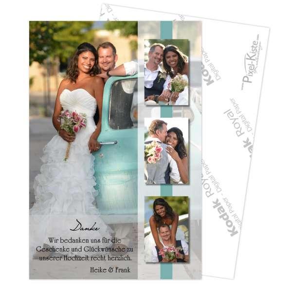 Dankeskarten Hochzeit Verpartnerung
