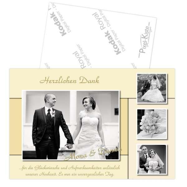 Danksagungskarten Hochzeit