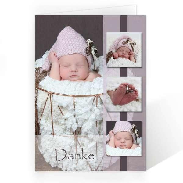 Danksagungskarten Baby