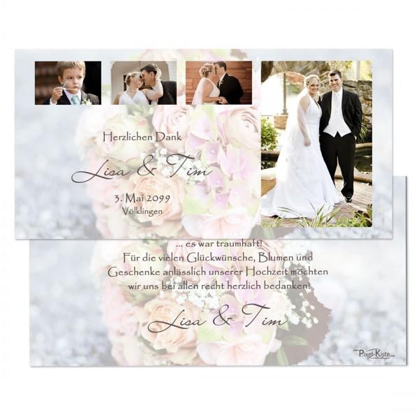 Danksagungen für die Hochzeit