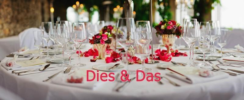 Dies & Das - Blog