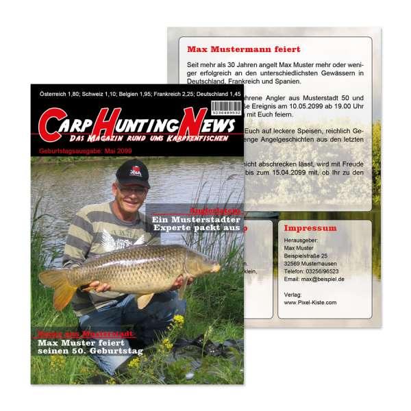 Einladungen Geburtstag Fur Karpfen Angler Zeitschrift