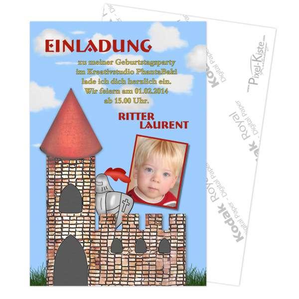 Einladung Kindergeburtstag Ritter