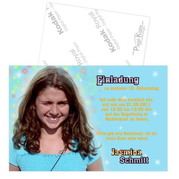 Einladungen Kindergeburtstag Mädchen