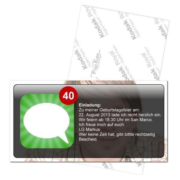 Einladungen Messenger