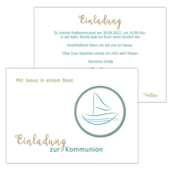 Mit Jesus in einem Boot - Kommunion