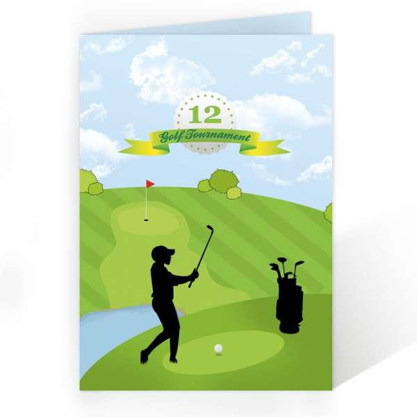 Einladungen Kindergeburtstag Golf