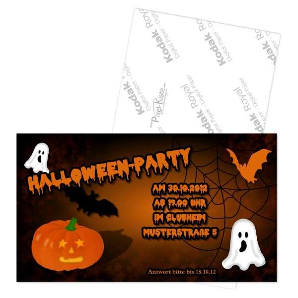 Einladung Kindergeburtstag Halloweenparty