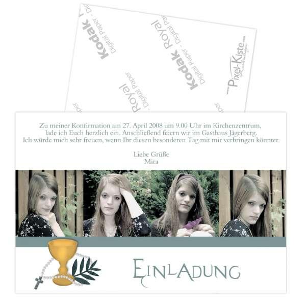 konfirmation, kommunion, firmung, Einladung