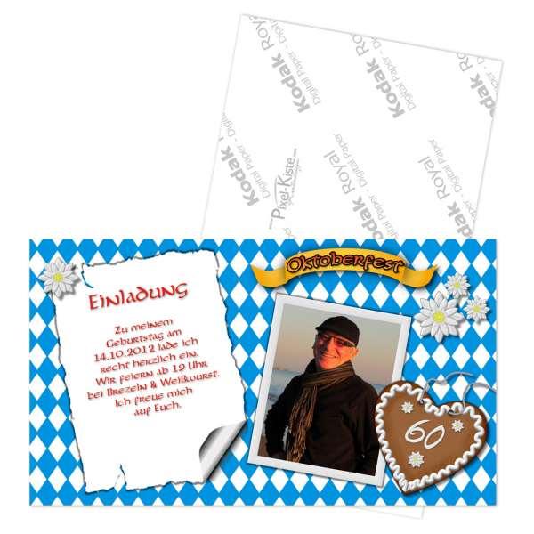 Einladungskarten Oktoberfest
