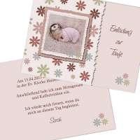 Einladungskarte Taufe