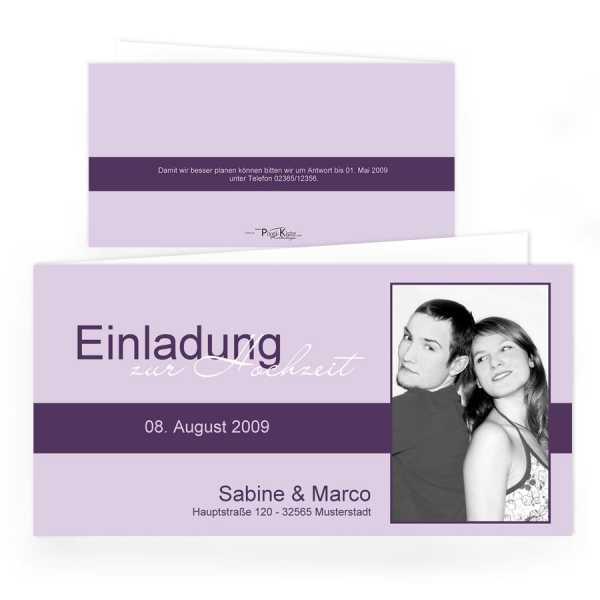 Einladungskarten Hochzeit