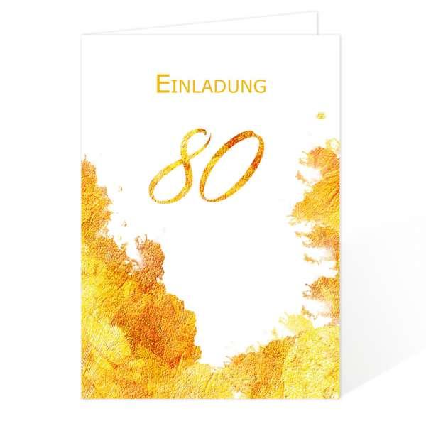 Einladungskarten 60. 70. 80. 90. Geburtstag