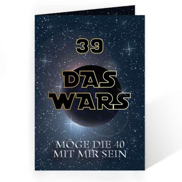 Einladungen Geburtstag DASWARS