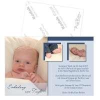 Einladungskarten zur Taufe oder Namensweihe