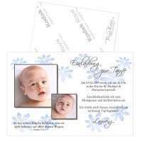 Einladungskarten zur Taufe