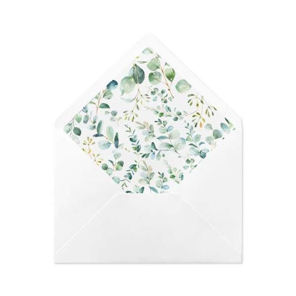 DIY Briefumschlag-Inlett aus der Kollektion Melissa & Leon