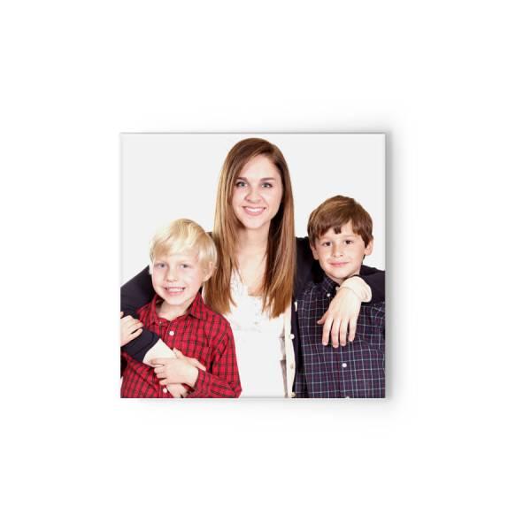 quadratische Fotoleinwand Familie drucken lassen