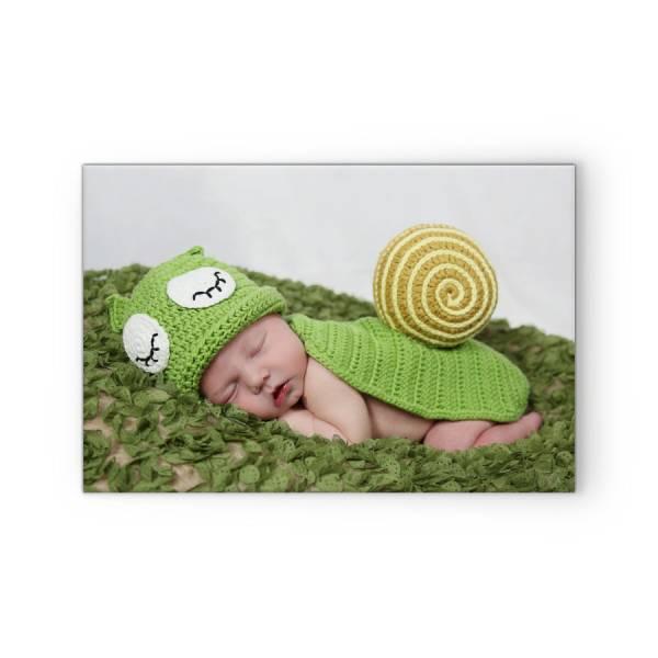 Fotoleinwand mit Babybild drucken lassen
