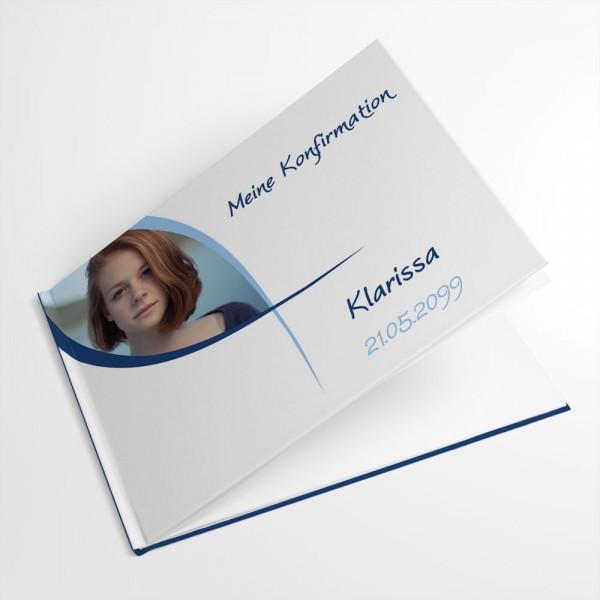 personalisiertes Gästebuch Konfirmation Erstkommunion Jugendweihe Ichthys