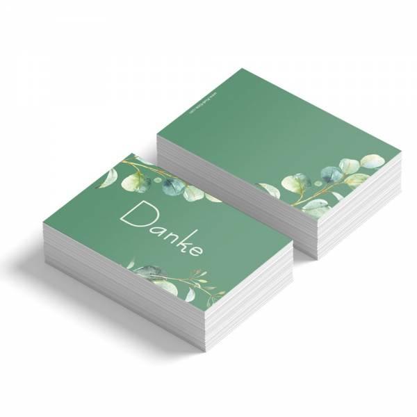 Geschenkanhänger /Dankeskarten für die Hochzeit Eukalyptus online kaufen