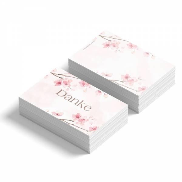 Geschenkanhänger Kirschblüten Jugendweihe Kommunion Konfirmation