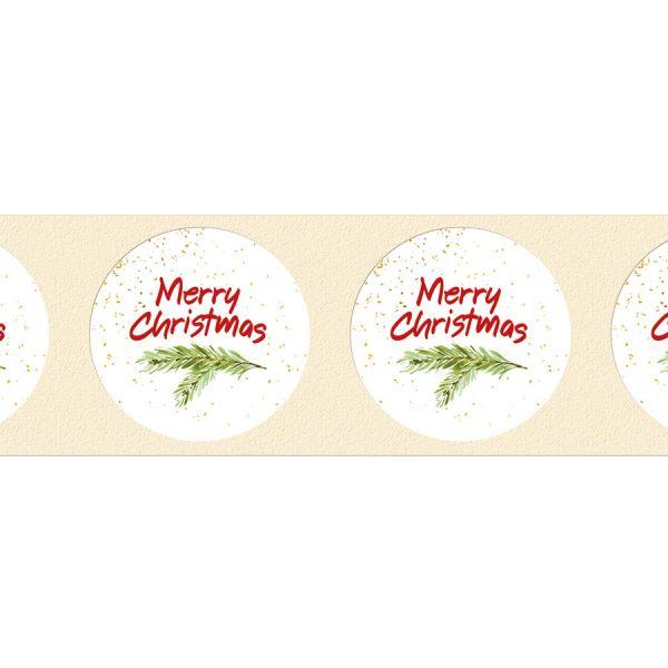 weihnachtliche Geschenkaufkleber Merry Christmas online bestellen