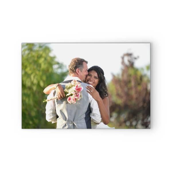 Fotoleinwand mit Hochzeitsbild drucken lassen
