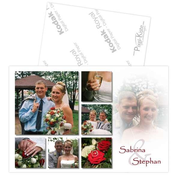 Hochzeitsdanksagung